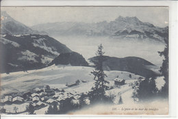 LEYSIN, MER DE NUAGE ET DENT DU MIDI - 22.11.06 - VD Vaud