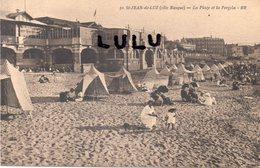 DEPT 64 : édit. Bloc Frères ( B R ) N° 30 : Saint Jean De Luz La Plage Et La Pergola - Saint Jean De Luz