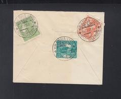 Tschechoslowakei Brief 1921 Krasna Lipa Nach Berlin - Czechoslovakia