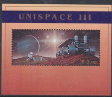 "Nations Unies New-York BF N° 17 XX  ""Unispace III"", Le Bloc Sans Charnière, TB - New York -  VN Hauptquartier"