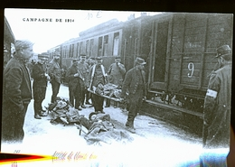 CHALONS SUR MARNE LA GARE 1914 BLESSES - Châlons-sur-Marne
