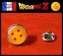 Pins Pin's Badge NEUF En Métal Et Verre ! Manga Dragon Ball 4 étoiles Su Shinchu - Comics