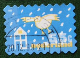 Kerst Christmas XMAS Weihnachten NOEL NVPH 1870 (Mi 1767) 1999 Gestempeld / USED NEDERLAND / NIEDERLANDE - Period 1980-... (Beatrix)