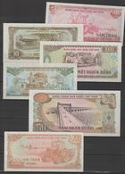 VIETNAM  1980 / 1991 -  6  BANKNOTES X3 (=18)   AU   Réf 80/91A - Viêt-Nam