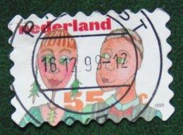 Kerst Christmas XMAS Weihnachten NOEL NVPH 1864 (Mi 1761) 1999 Gestempeld / USED NEDERLAND / NIEDERLANDE - Period 1980-... (Beatrix)