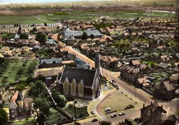 DPT 02 FARGNIERS Vue Panoramique Aérienne L'Eglise - France