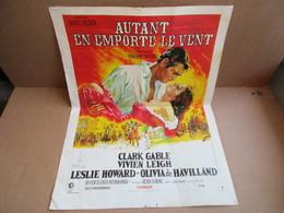 Autant En Emporte Le Vent - Affiche Cinéma Film - Affiches