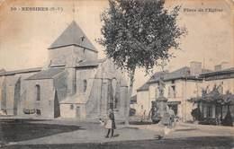 Bessines Sur Gartempe (87) - Place De L'Eglise - Bessines Sur Gartempe
