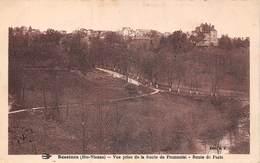Bessines Sur Gartempe (87) - Vue Prise De La Route De Fromental - Route De Paris - Bessines Sur Gartempe