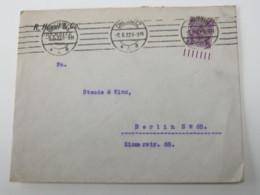 1922 , Chemnitz , Brief Mit 2 M. Posthorn Vom Unterrand - Briefe U. Dokumente