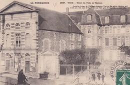 VIRE  -  Hôtel De Ville Et Théâtre - Vire