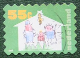 Kerst Christmas XMAS Weihnachten NOEL NVPH 1874 (Mi 1771) 1999 Gestempeld / USED NEDERLAND / NIEDERLANDE - Period 1980-... (Beatrix)