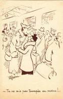 CPFM 1940 - Série ABC - Retrouvailles Sur Le Quai Par R Guérin - Franchise Militaire - Marcofilia (sobres)