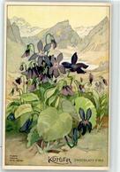 52733611 - Werbung Kohler Schokolade Veilchen - Werbepostkarten