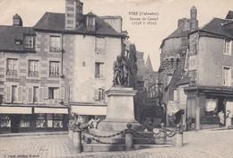 VIRE  -  Statue De Castel   (1758 à 1832 ) - Vire