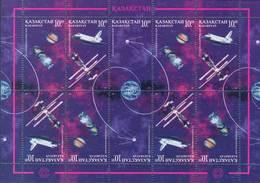 Kazakhstan 1997.  Cosmonautics Day. Space. MNH - Space