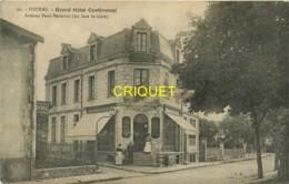 17 Fouras, Grand Hotel Continental, Gérant Et Personnel à L'entrée, Carte Pas Courante - Fouras-les-Bains