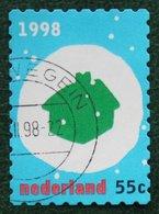 Kerst Christmas XMAS Weihnachten NOEL NVPH 1789 (Mi 1684) 1998 Gestempeld / USED NEDERLAND / NIEDERLANDE - Period 1980-... (Beatrix)