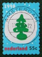 Kerst Christmas XMAS Weihnachten NOEL NVPH 1791 (Mi 1686) 1998 Gestempeld / USED NEDERLAND / NIEDERLANDE - Period 1980-... (Beatrix)
