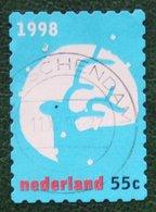 Kerst Christmas XMAS Weihnachten NOEL NVPH 1792 (Mi 1687) 1998 Gestempeld / USED NEDERLAND / NIEDERLANDE - Period 1980-... (Beatrix)