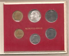 Vaticano Serie Annuale In Confezione - 1980 - Vaticano