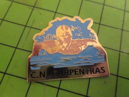 1415c Pin's Pins /  Rare & De Belle Qualité : THEME SPORTS : CLUB NAUTIQUE CARPENTRAS NATATION - Swimming