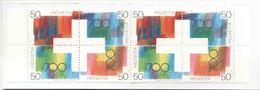 1991 Svizzera, Libretto Confederazioner Svizzera, Serie Completa Nuova (**) - Svizzera