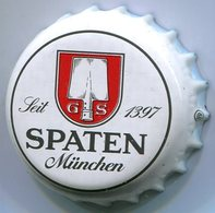 CAPSULE-BIERE-ALL-BRASSERIE SPATEN-FRANZISKANER-BRAU Spaten Fond Blanc - Bière