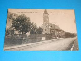 """41 ) Chaumont-sur-loire - N° 2 - L'eglise  """" Coté Sud-ouest """" - EDIT - A.P - France"""