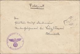 Feldpost II. Weltkrieg: Baubelehrung U-Boote 10 Nach Linz - Deutschland