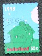 Kerst Christmas XMAS Weihnachten NOEL NVPH 1794 (Mi 1689) 1998 Gestempeld / USED NEDERLAND / NIEDERLANDE - Period 1980-... (Beatrix)