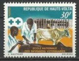 """Hte-Volta YT 223 """" Ecole Infirmiers Vétérinaires """" 1970 Neuf** - Haute-Volta (1958-1984)"""