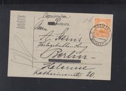 Yugoslavia PC Slovenia Maribor 1922 To Berlin - 1919-1929 Königreich Der Serben, Kroaten & Slowenen