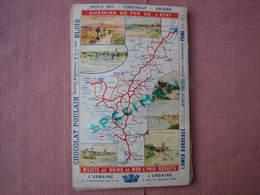Chemins De Fer De L'Etat 1889 Bains De Mer De L'Ocean Guide Illusté  124 Pages TBE - Railway