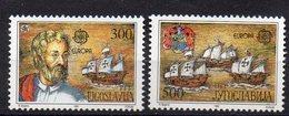 YOUGOSLAVIE   Timbres Neufs ** De 1992  ( Ref 5861 ) EUROPA - Colomb - 1992-2003 République Fédérale De Yougoslavie