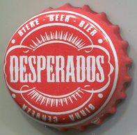CAPSULE-BIERE-FRA-BRASSERIE FISCHER Desperados Rouge & Blanc Grande écriture - Cerveza