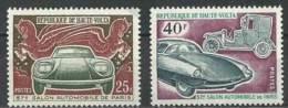 """Hte-Volta YT 229 & 230 """" Salon De L'auto """" 1970 Neuf** - Haute-Volta (1958-1984)"""
