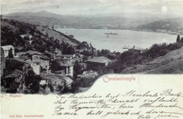 Turquie - Constantinople - Bosphore - Voir Verso - Turquie