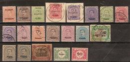 (Fb).Belgio.1920.Eupen E Malmedy.Lotto Valori Usati E Nuovi (263-18) - Guerre 14-18
