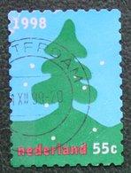 Kerst Christmas XMAS Weihnachten NOEL NVPH 1796 (Mi 1691) 1998 Gestempeld / USED NEDERLAND / NIEDERLANDE - Period 1980-... (Beatrix)