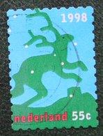 Kerst Christmas XMAS Weihnachten NOEL NVPH 1797 (Mi 1692) 1998 Gestempeld / USED NEDERLAND / NIEDERLANDE - Period 1980-... (Beatrix)