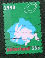 Kerst Christmas XMAS Weihnachten NOEL NVPH 1798 (Mi 1693) 1998 Gestempeld / USED NEDERLAND / NIEDERLANDE - Period 1980-... (Beatrix)