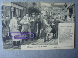 L'impôt Sur Le Revenu En 1908 - Personnages
