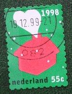 Kerst Christmas XMAS Weihnachten NOEL NVPH 1799 (Mi 1694) 1998 Gestempeld / USED NEDERLAND / NIEDERLANDE - Period 1980-... (Beatrix)