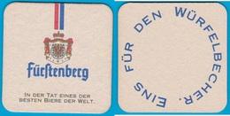 Fürstlich Fürstenbergische Brauerei ( Bd 2087 ) Günstige Versandkosten - Bierdeckel