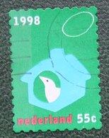 Kerst Christmas XMAS Weihnachten NOEL NVPH 1800 (Mi 1695) 1998 Gestempeld / USED NEDERLAND / NIEDERLANDE - Period 1980-... (Beatrix)