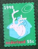 Kerst Christmas XMAS Weihnachten NOEL NVPH 1802 (Mi 1697) 1998 Gestempeld / USED NEDERLAND / NIEDERLANDE - Period 1980-... (Beatrix)