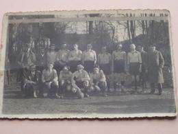 "S.K. LANAKEN (?) Kaartclub / Anno1934 ( Zie Foto "" Centraal "" SMEERMAES ) 1 Stuk ! - Sport"