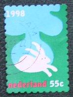 Kerst Christmas XMAS Weihnachten NOEL NVPH 1803 (Mi 1698) 1998 Gestempeld / USED NEDERLAND / NIEDERLANDE - Period 1980-... (Beatrix)