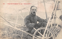 """¤¤   -   L'Aviateur """" SANTOS-DUMONT """" Et Sa """" DEMOISELLE """"  -  Aviation , Avion  -  ¤¤ - Aviatori"""
